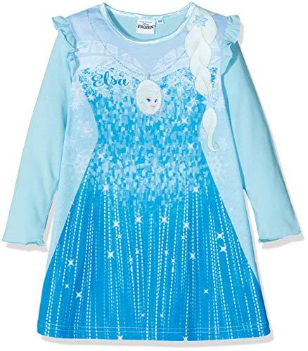 Disney Frozen Mädchen HS2094 Nachthemd, Blau (Blue Blue), 4 Jahre