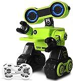 HBUDS Control Remoto Robot Educativo Juguetes R13 Baile programable Inteligente Aprendizaje Deslizante Grabación para niños y niñas (Verde)