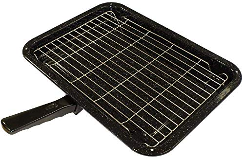 Find A Spare Grill Pan to fit Beko Belling Bosch Creda Hotpoint Indesit Oven Cooker (380 x 280mm)