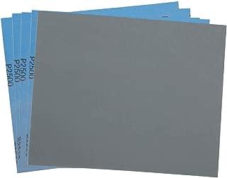 2500 Grit Dry Wet Sandpaper Sheets by LotFancy - 9 x 11