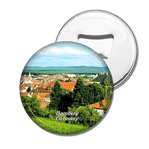 Weekino Deutschland Bamberg Altstadt Bier Flaschenöffner Kühlschrank Magnet Metall Souvenir Reise Gift