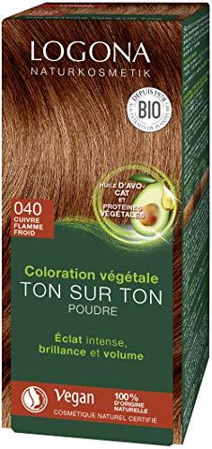 Logona Herbal Hair Color Powder, 040 Flame red 33310