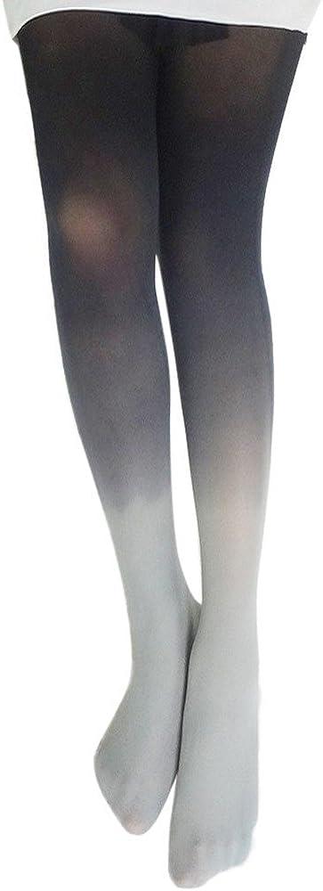 Women's Flawless Legs Leggings Gradient Color Pantyhose All Season Tights Stockings Socks Hosiery