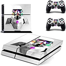PS4 Pro Skin - Slim skins sticker - Star Wars Darth Vader PS4 Skin Sticker Decal for Sony PlayStation 4 Console and 2 Controller Skin PS4 Sticker Vinyl Accessory - Type A24