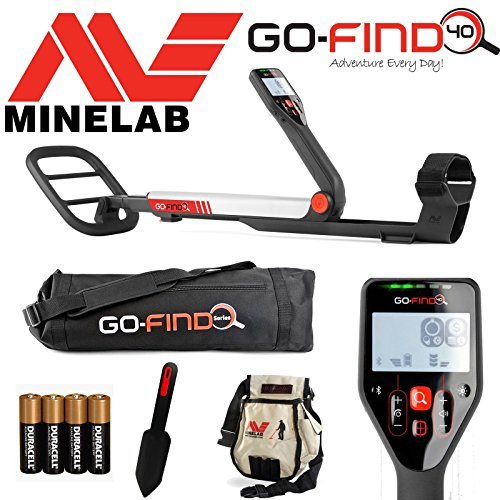 Minelab GO-FIND 40 Metal Detector...