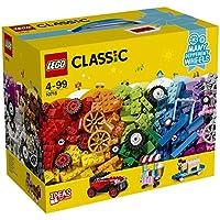 LEGO Muchas Ruedas Diferentes, Ladrillos Sobre Ruedas, Juguete de Construcción Educativo y Divertido para Niñas y Niños