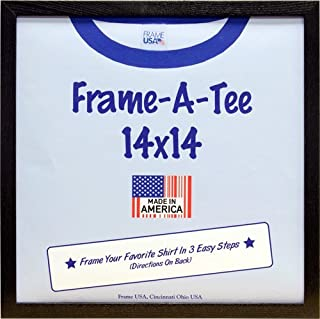 Frame USA T-Shirt Frame, 14x14 Inches, Black