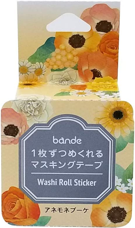 Bande Masking Roll Sticker Tape Anemone for 100% quality warranty supreme Bouquet Scra