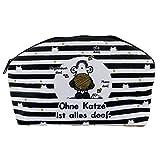 Sheepworld 45995 Plüschmäppchen Ohne Katze ist...