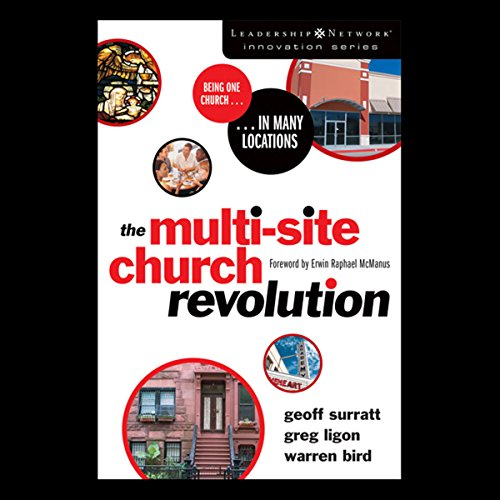 The Multi-Site Church Revolution audiobook cover art