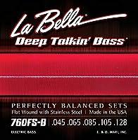 LA BELLA (ラベラ) 5弦ベース弦 760FS-B Deep Talkin' Bass 5-String 45-128