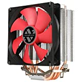 ABKONCORE AM4 CPU Cooler CT401, 4 Continuous Direct Contact Heatpipes Heasink, 120mm Quiet