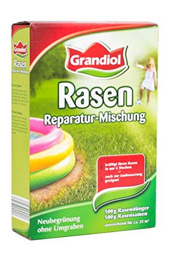 Grandiol Rasen Reparatur - Mischung 1kg - ausreichend für ca. 25m²