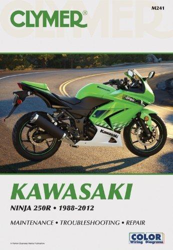 Kawasaki Ninja 250R 1988-2012 (Clymer Manuals: Motorcycle Repair) by Penton Staff (2000-05-24)