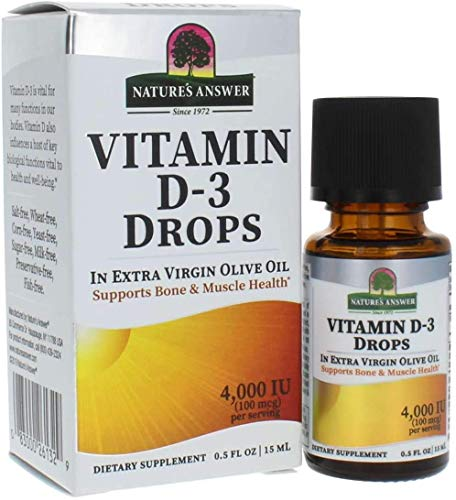 Natures Answer Vitamin D3 Drops Liquied 15ml