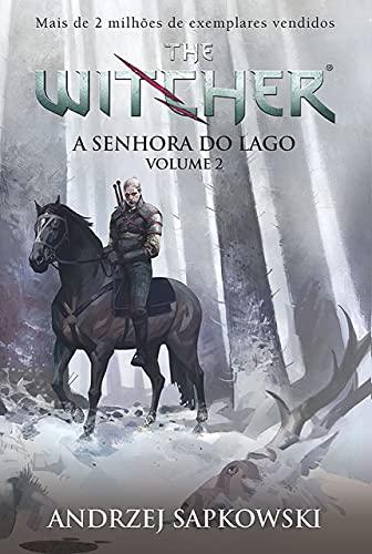 A Senhora do Lago. A Saga do Bruxo Geralt de Rivia - Volume 2 - Capa Game