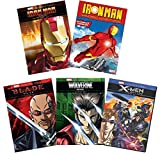 Ultimate Marvel Avengers Animated Series 5-Pack DVD Collection: Iron Man / Iron Man: Armored Adventures / X-Men / Wolverine / Blade