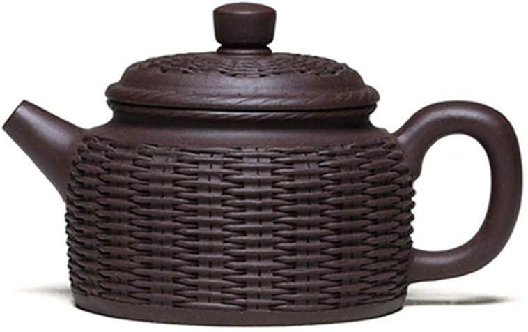 HUAXUE Max 59% OFF Teapot Japanese, Famous sale Tea Bamboo Handmade C