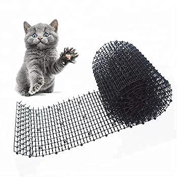TANGX Garden Cat Scat Spike Mat, Anti-Cat Network Grab Stopper Prickle Strip pour Intérieur Et Extérieur