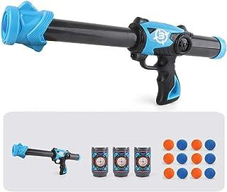 yeesport Kids Foam Ball Launcher Set Creative EVA Foam Ball Blaster Atomic Power Popper Foam Balls Launcher Air Powered Po...