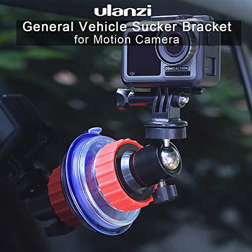 RONSHIN Camera Accessoires ULANZI U-50 Action Camera Sucker Houder Auto Houder Mount Glas Zuignap Beugel voor GoPro DJI Osmo Action