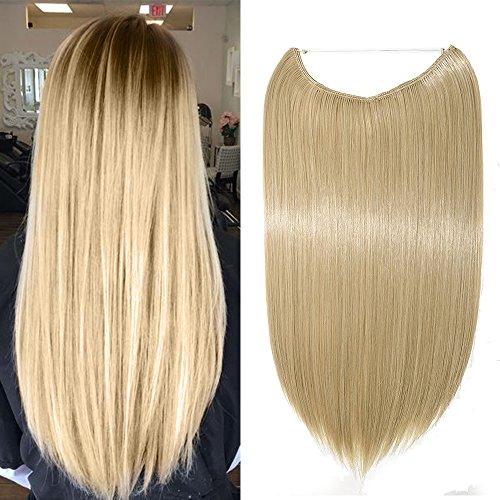Extension per capelli, integrazione sintetica per capelli, per rifoltire, versione con capelli mossi, 1 pezzo