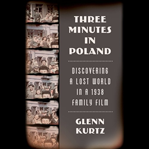 Three Minutes in Poland audiobook cover art