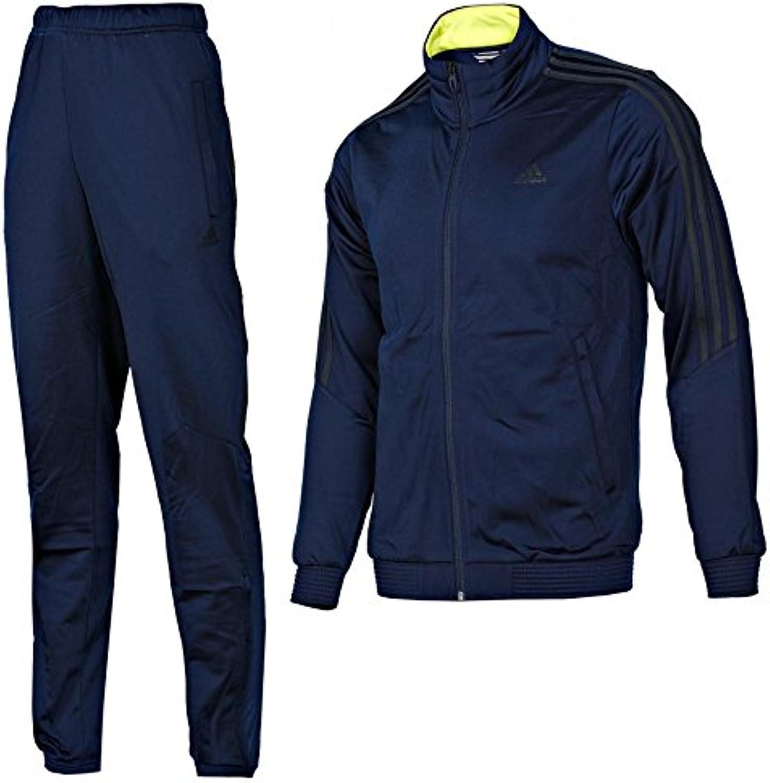 Adidas TS New Cut Herren Trainingsanzug, F49186, Navi, Gr 5