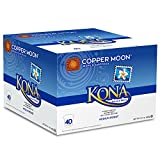 Copper Moon Coffee Single Serve Pods for Keurig 2.0 K-Cup Brewers, Kona Blend, Medium Roast Coffee with a Mellow Balanced Body and Nutty Finish, 40 Count