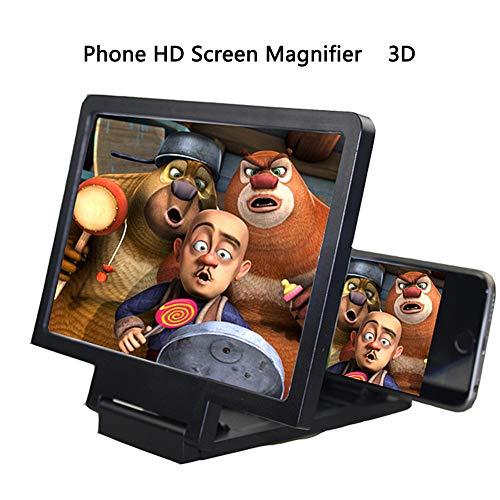 Lunch Box versterker 3D universeel vergrootglas voor mobiele telefoon, houder HD voor inklapbaar scherm, geavanceerde video, voorkomt de straling van de telefoon