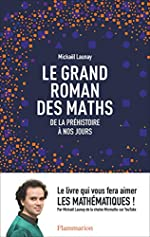 Le grand roman des maths - De la préhistoire à nos jours de Mickaël Launay