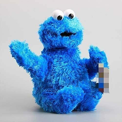 Gevulde dieren speelgoed Knuffels Sesamstraat Cookie Monster Knuffels Cute Soft Cartoon Knuffels For Kids Gifts