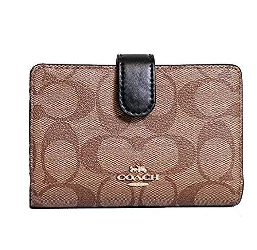 Coach Leather Medium Corner Zip Wallet - #F23553