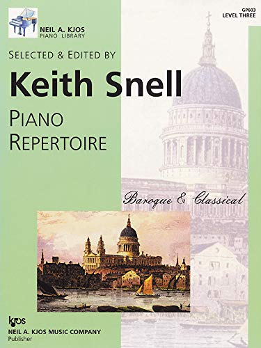 GP603 - Baroque and Classical - Piano Repertoire - Level 3