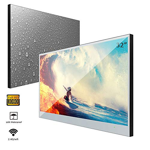 Read About Soulaca 32 inches Full HD Smart Bathroom Hotel Advertising Monitor LED TV IP66 Waterproof