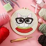 Diy Stickmaterial Paket Home P Stickerei Handmade Fun Dekorative Stickerei Geschenk Dekompression Wollmalerei