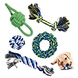 Juguete de cuerda para perro, juguetes para masticar para perros, juguetes de...