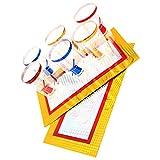 Tomaibaby Tazas Apilables Truco de Magia Juego de Magia para Niños Fiesta de Cumpleaños Favor Premio de Carnaval