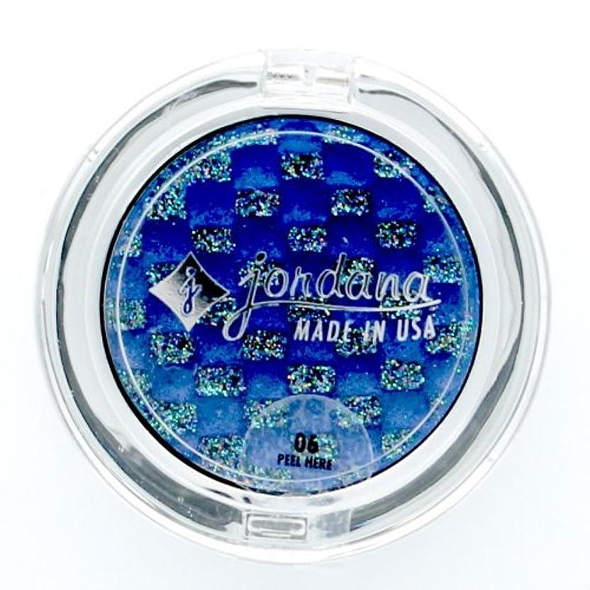 (3 Pack) JORDANA Eye Glam Cream Eyeshadow with Glitter on Top Only - Sapphire Stone (並行輸入品)