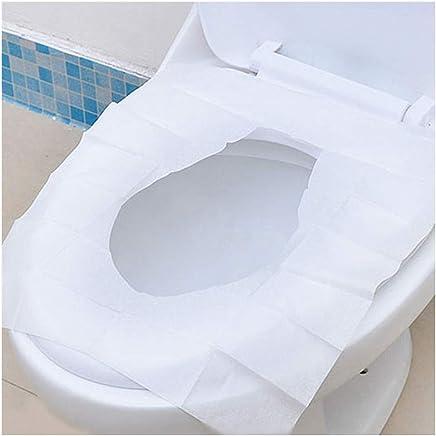 Baoblaze 2pcs Kids Self Adhesive Washable Toilet Seat Cover Warm Cushion Pad Blue