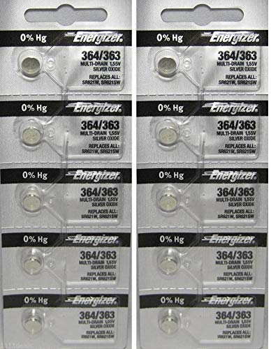 364 Energizer Watch Batteries - 8