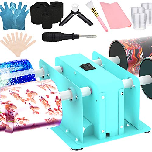 Creative Cuptisserie 4 Cup Turner Tumbler Steel Frame Cup Spinner Machine for Drying Epoxy Resin DIY Rotisserie Motor Rotator Kit to Personalize Tumbler Crafts at Home