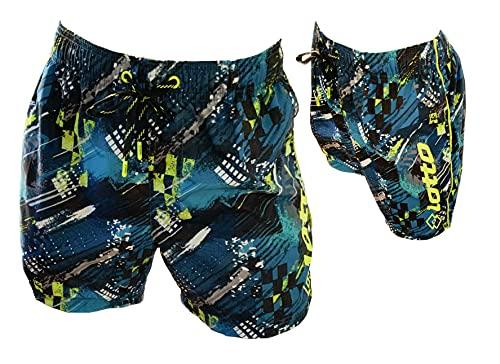 Lotto Costume Uomo Boxer Mare Pantaloncini da Bagno (48423 Antracite, M, m)