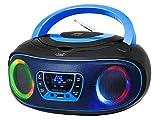 Trevi CMP 583 DAB Stereo Portatile con Ricevitore Digitale di Onde DAB / DAB + e FM con RD...