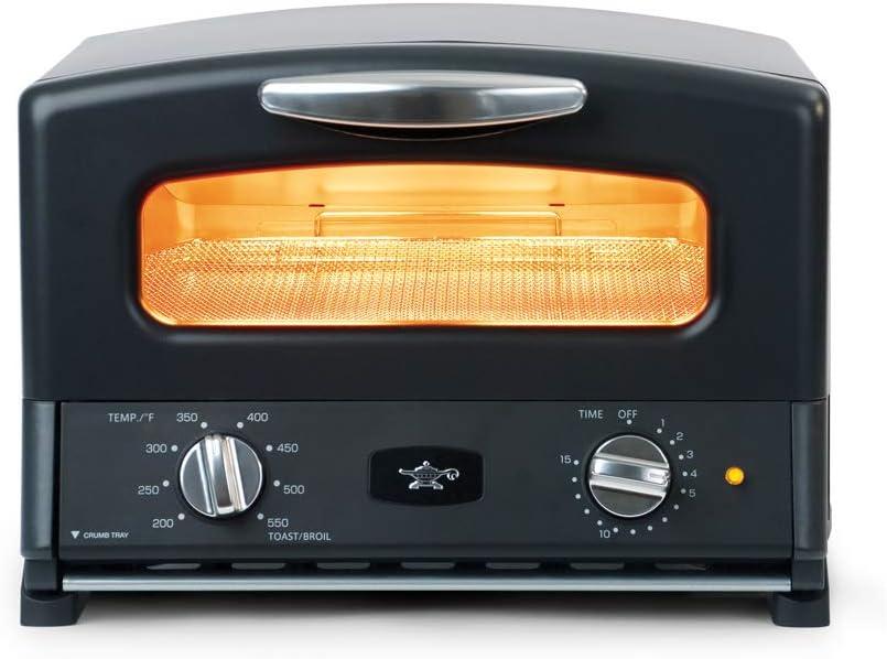 Sengoku SET-G16A K HeatMate Toaster Easy-to-use Ranking TOP17 volt Oven 120 Black