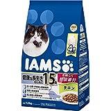 アイムス (IAMS) キャットフード 15歳以上用 健康な長生きのために チキン 1.5kg