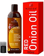 Newish Red Onion Hair Oil for Hair Growth for Men & Women 100ml