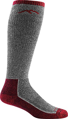 Darn Tough Mountaineering OTC Extra Cushion Sock - Men's Smoke Large