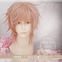 コスプレウィッグ★短刀 物吉貞宗(ものよしさだむね), 刀剣乱舞ONLINE(とうらぶ)  wig sunshine onlineが販売+おまけ