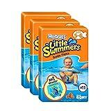 Huggies Little Swimmers Swim Pants Nappies Taille 5-6 Bébé 12-18kg Jumbo Pack de 33